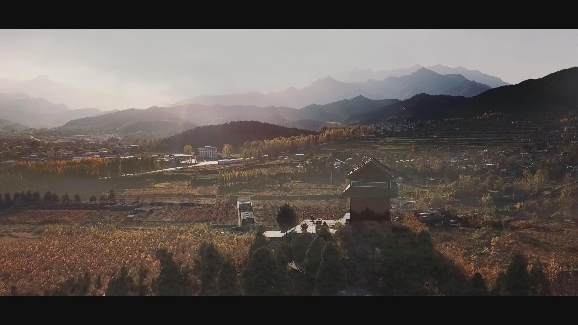 农村介绍片连日。辉县北寨村